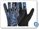 Bontrager Gloves Full Finger Blue