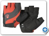 Bontrager Gloves Red and Black