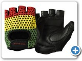 Bontrager Gloves Red Yellow Green