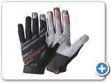 Bontrager Rhythm Glove Full Finger Red
