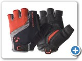 Trek Gloves Red and Black